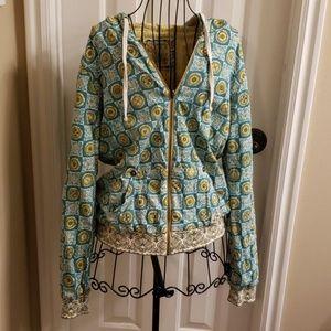 Billabong reversible hoodie